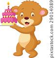熊 蛋糕 生日 29014089