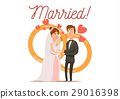 Newly Married Couple Composition 29016398
