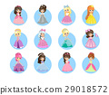 princess cartoon beautiful 29018572