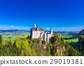 新天鵝堡 城堡 德國人 29019381