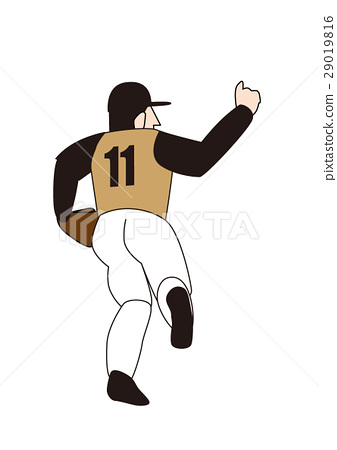 Baseball player, pitcher, right thrower, pitcher 29019816