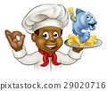 大厨 主厨 鱼 29020716