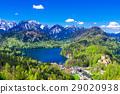 舊天鵝堡 城堡 湖泊 29020938