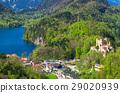 舊天鵝堡 城堡 湖泊 29020939