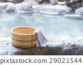 外部露天池 洗澡 温泉 29021544