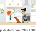 children, boy, kitchen 29021700