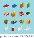 book, isometric, bookstore 29024133