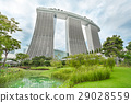 Landscape of Marina Bay Sands in Singapore. 29028559