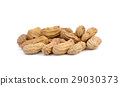 peanuts , groundnut on white background 29030373