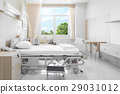 Hospital room with beds  29031012