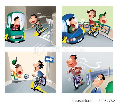 自行车骑行,自行车交通安全,自行车驾驶规则 29032732