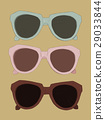 Vintage sunglasses  vector. 29033844