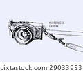 Camera vector. Vintage and classic style. 29033953