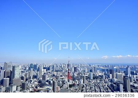Tokyo city landscape Tokyo Tower 29036336