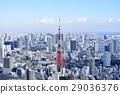 東京城市風景東京鐵塔 29036376