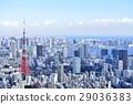東京城市風景東京鐵塔 29036383