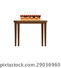 케이크, 달달한, 음식 29036960