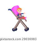toddler carriage character 29036983