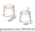 sack flour wheat 29038144