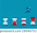 Businessman and time 29040731