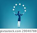 Businesswoman show creative 29040788