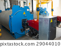 Modern boiler room equipment- high power boiler 29044010