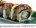 avocado eel sushi 29044397