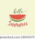 card summer melon 29045075