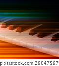 piano, key, instrument 29047597