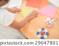 ศิลปะพับกระดาษ,โอริกามิ,เด็ก 29047801