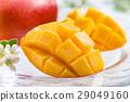 芒果 水果 切 29049160