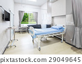 Hospital room with beds and comfortable medical 29049645