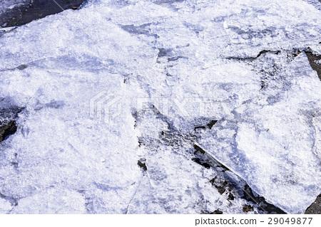 유빙의 얼음 덩어리 29049877