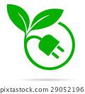eco, plug, leaf 29052196