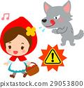 หมาป่าเล็งหมวก Little Red Riding 29053800