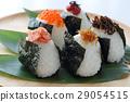 Delicious rice ball 29054515
