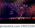 불꽃 놀이 대회, 히코네, 비와코 29055588