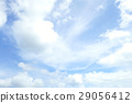 Blue Sky and White Cloud. Nature Background 29056412