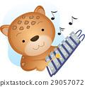 Mascot Music Cheetah Xylophone 29057072