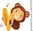 猴子 猴 音樂 29057076