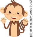 상징, 캐릭터, 원숭이 29057092