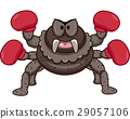 Spider Mascot Boxer Gloves 29057106
