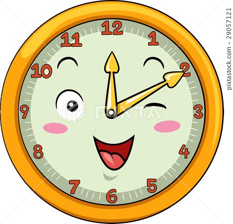 Mascot Clock Ten After Twelve 29057121