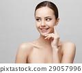 Beautiful Woman with Clean Fresh Skin  29057996