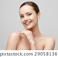 Beautiful Woman with Clean Fresh Skin  29058136