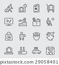 Airport line icon 1 29058401
