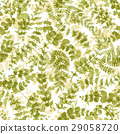 Seamless plant background. Vector 29058720
