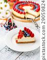 cream, cheesecake, berry 29059824