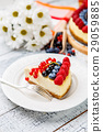 cream, cheesecake, berry 29059885