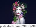 Beautiful flower queen 29060698